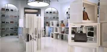 Large White Store Interior
